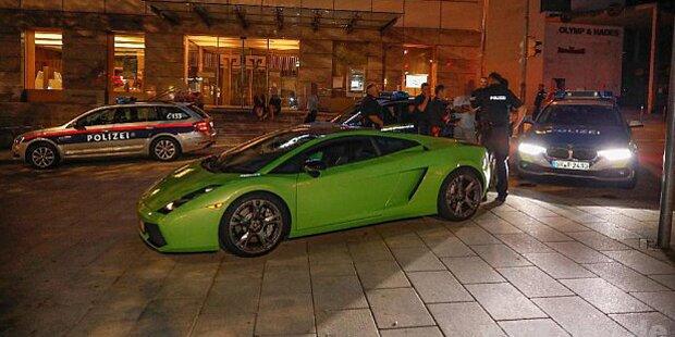Austro-Polizisten folgten Raser in Lamborghini bis nach Bayern