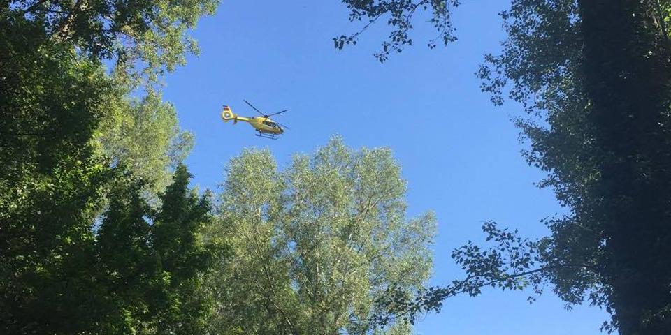 Rettungsaktion in Wien Donaustadt Neue Donau Ertrunken