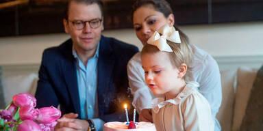 Prinzessin Estelle: 2. Geburtstag