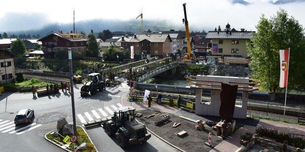 Modernste Brücke vor Fertigstellung