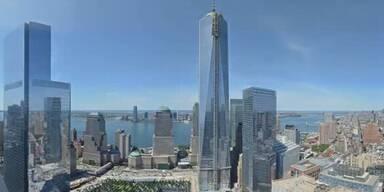 One World Trade Center im Zeitraffer