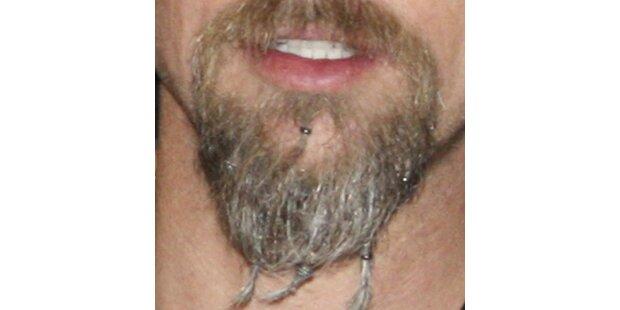 Welcher Star trägt Zöpfchen im Bart?