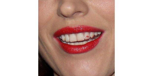 Lippenstift-Patzer: Wem gehört der Mund?