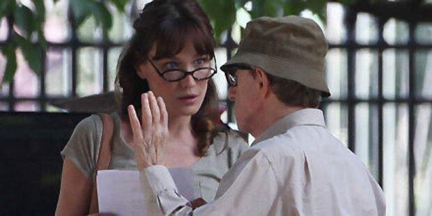 Woody Allen schockiert über Bruni-Tratsch