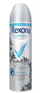 1 Rexona Women Crystal Clear Aqua Aerosol