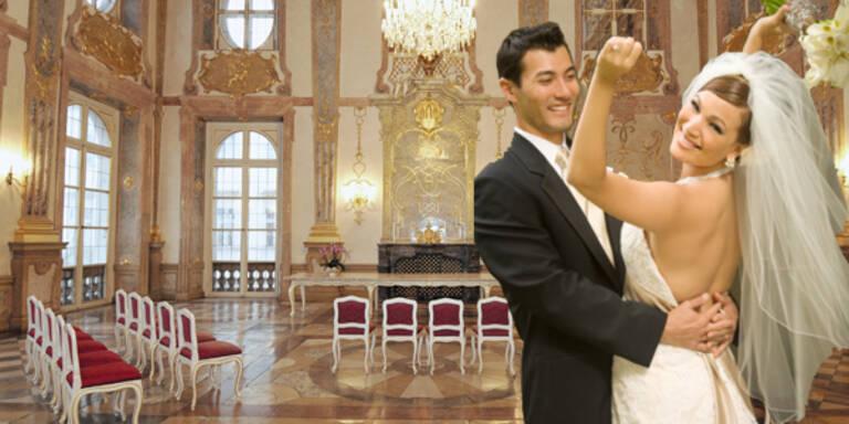 Top-10-Locations für Ihre Hochzeit
