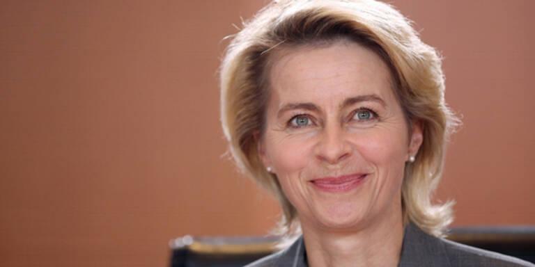Ursula von der Leyen Deutschland Bundespräsident Kandidatin Frauen Power