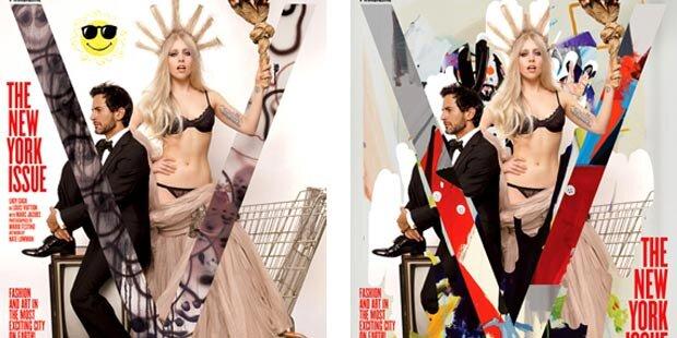Gaga: Freiheitsstatue in Dessous