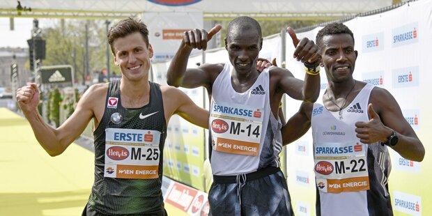 Vienna City Marathon: Kenianer Vincent Kipchumba siegt