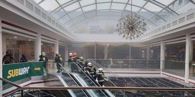 Feuerwehr Einsatz In Der Lugner City Restaurant Stand In Flammen