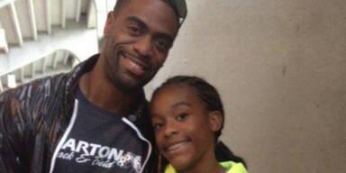 Tochter von Tyson Gay erschossen