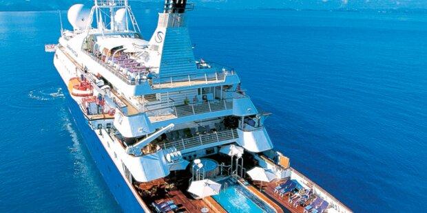 Die besten Kreuzfahrtschiffe