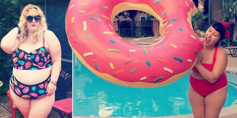 Kurviger Instagram-Trend: #Fatkini