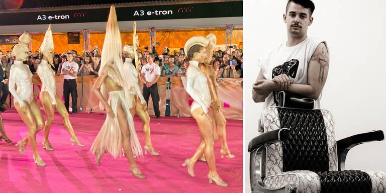 Lady Gaga-Stylist vergoldete Life Ball