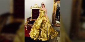Cathy Lugner: Ihr irres Opernball-Kleid