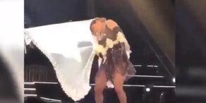 Peinlicher Schleiertanz: Madonna blamiert sich auf der Bühne