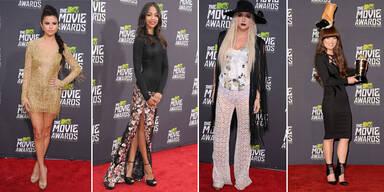 Tops und Flops bei den MTV Movie Awards