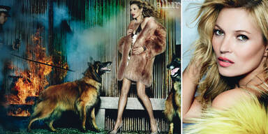 Kate Moss am Cover des 'Allure' Magazins