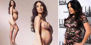 Tamara Ecclestone zieht mit Babybauch blank