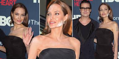 Angelina Jolies weißes Puder-Desaster