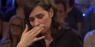 Tschirner: Emotionaler Tränen-Auftritt