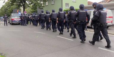 Bregenz Bewaffneter Frau tot