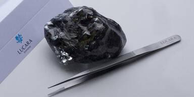 einer der größten Diamenten Botswana