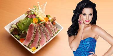 Katy Perry auf Feinschmecker-Diät