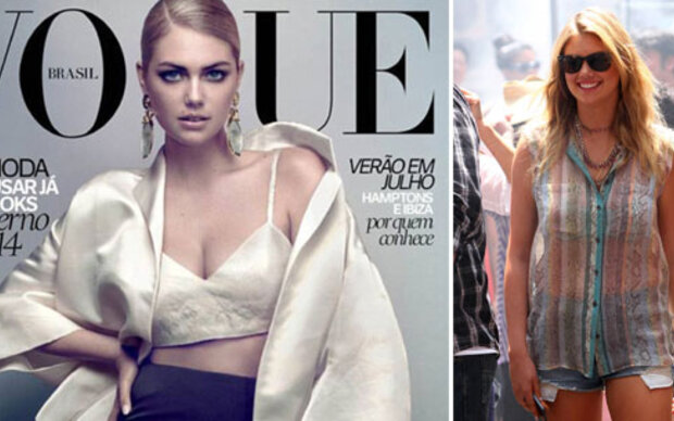 Kate Upton: Glamour am Cover