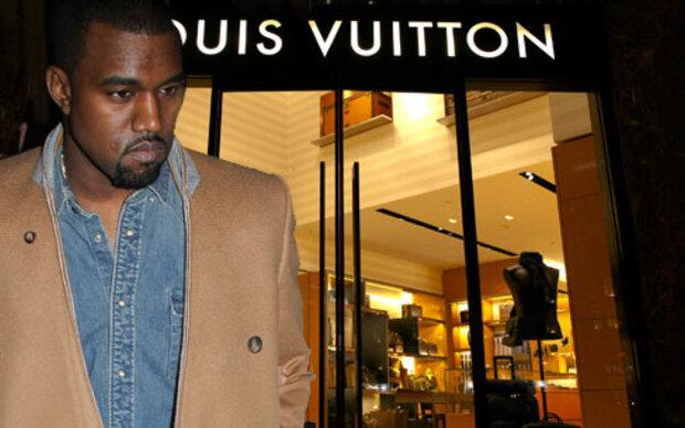 Kanye West schimpft über Louis Vuitton