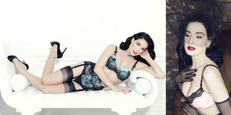 Dita Von Teese: neue Lingerie-Kollektion