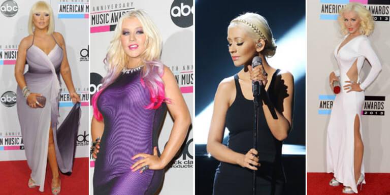 Christina Aguilera: Plötzlich gertenschlank
