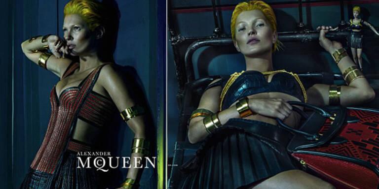 Kate Moss: Horror-Shooting für Alexander McQueen
