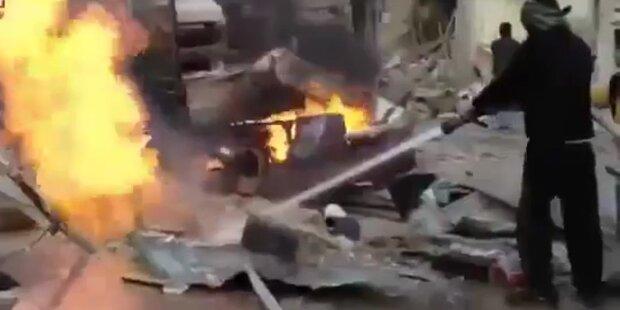 Syrien hat Angst vor Chemiewaffen Angriff