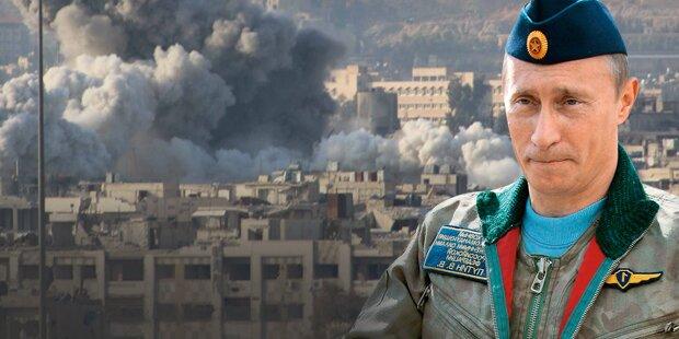 Putin schickt Kampfroboter nach Syrien