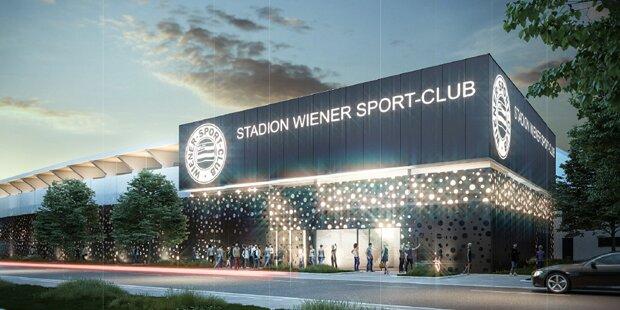 Wiener Sport-Club bekommt neues Schmuckkästchen