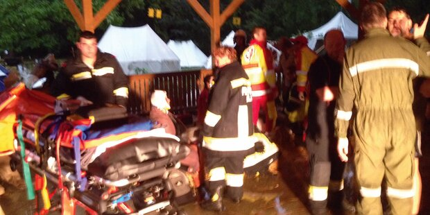 Toter nach Unwetter-Drama bei Zeltfest
