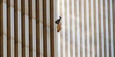 """Das Bild des """"Falling Man"""" ging um die Welt"""