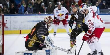 Spitzenspiel Salzburg gegen die Caps