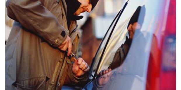 Wiener Polizist jagt Auto-Einbrecher