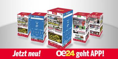 EURO-TOR-ALARM mit der oe24.at-App