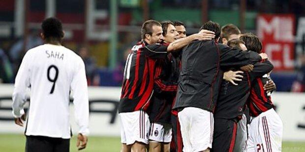 Manchester United in CL gegen Angstgegner AC Milan