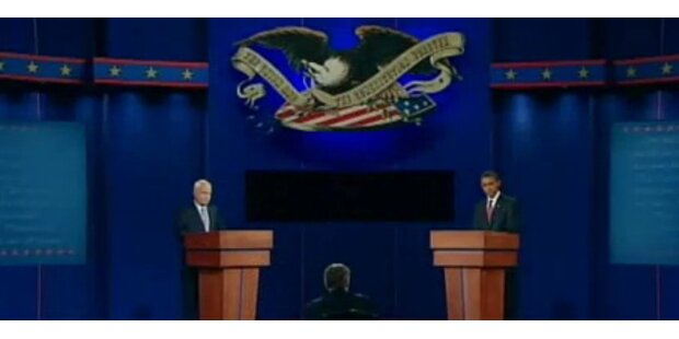 Heute TV-Duell Romney gegen Obama