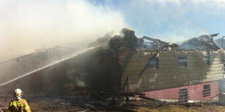 Großbrand in Thalgau