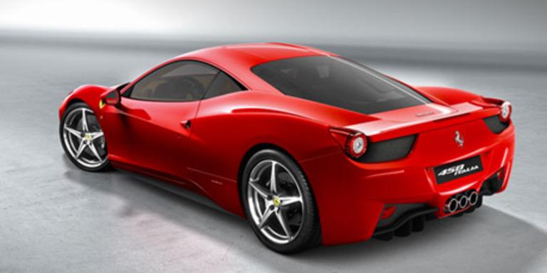 Der neu F458 Italia muss nicht in die Werkstatt. Bild: Ferrari