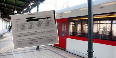 500 Euro! Erste Corona-Strafe in Wiener U-Bahn