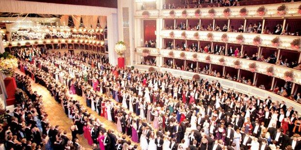 So barock wird der Opernball