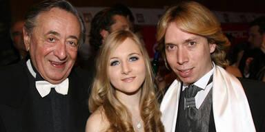 Richard Lugner, Helmut Werner, Jacqueline Lugner