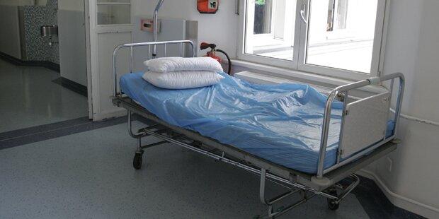 Mann kam mit Halsstich in Wiener Spital
