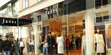 Wiener Modekette Jones ist pleite